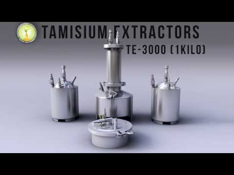 Tamisium Extractor Radio Ad bho. closed loop. butane essential oil extractor