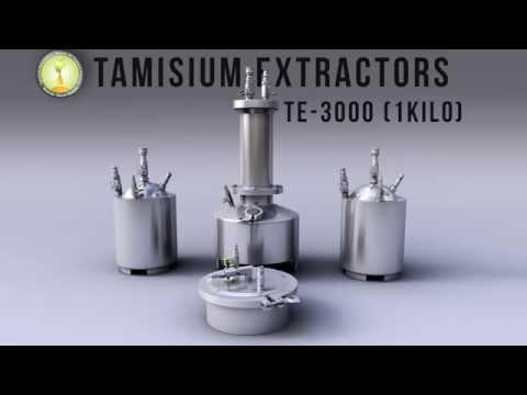 Tamisium Extractor Radio Ad bho. closed loop. butane essential oil extractor