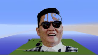 PSY ║ Pixel Art ║ Time Lapse ║ 32,480 Blocks ║ Minecraft