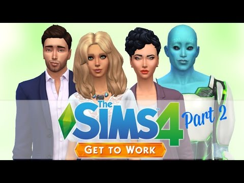 Let's Play: The Sims 4 Get To Work | Part 2 | Popping Pills