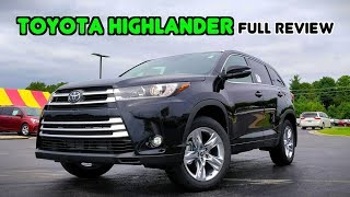 2019 Toyota Highlander: FULL REVIEW   The Three-Row Sales King!
