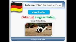 German Past Tense - Der Herbst ist da - Autumn has come - Practice German with Julia