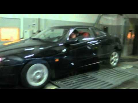 Alfa Romeo GTV 2.0 Twin spark Dyno Test