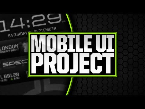 Mobile UI Project: Droid Spectacular – Design Progression by Apex [1080p]