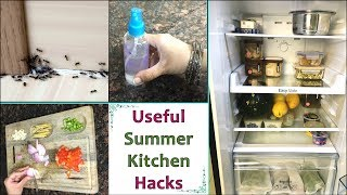 Summer Kitchen Hacks | Must Know Summer Kitchen Tips | Summer Kitchen Tips & Tricks