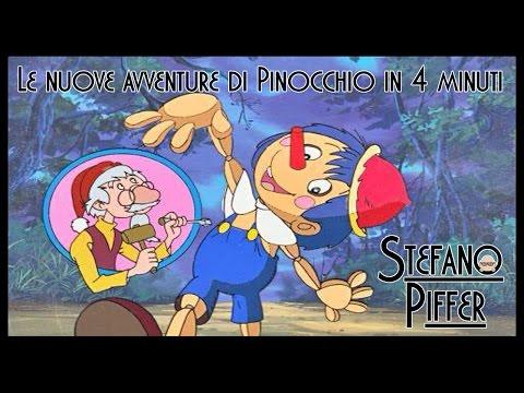 Le nuove avventure di Pinocchio in quattro minuti