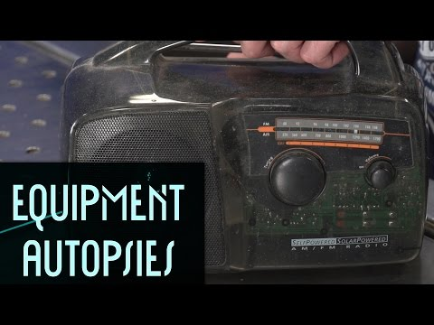 Self/Solar Powered Radio: Equipment Autopsy #84