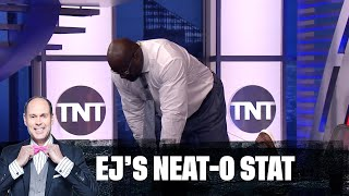 Shaq Takes A Dive During Gone Fishin' | EJ's Neat-O Stat