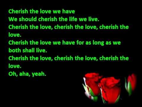 Pappa Bear - Cherish The Love Lyrics video
