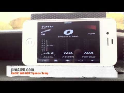 ELM327 WiFi OBD 2 IPhone Setup Demo on Subaru Impreza