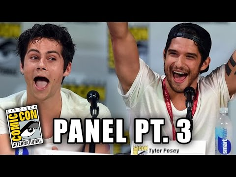 Teen Wolf Comic-Con 2014 Panel Part 3 (Dylan O'Brien, Tyler Hoechlin, Tyler Posey)