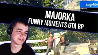 GTA RP | MAJORKA [ SILNY | LUDZKA POCHODNIA ] | Funny Moments