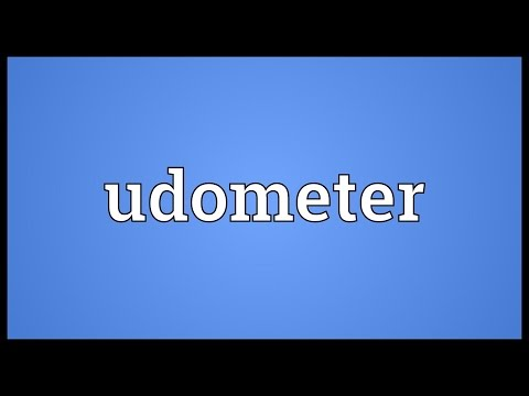 Header of udometer