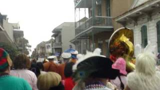 Mardi Gras New Orleans - Marching band Parade