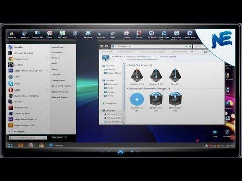 Windows 7 Theme - Eno + Alienware Encounter icon pack