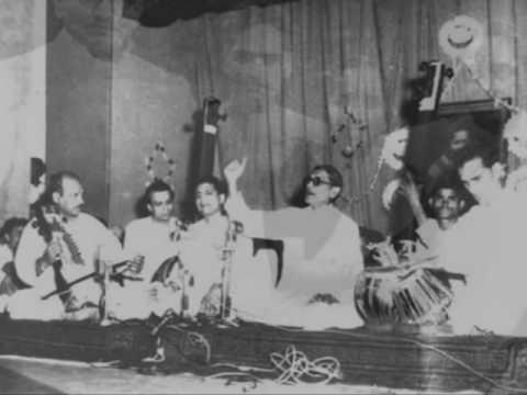 Raag Miyan Ki Todi - Ustad Vilayat Hussain Khan Sahib