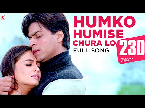 Humko Humise Chura Lo - Full Song - Mohabbatein