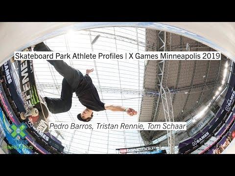 Skateboard Park Athlete Profiles | X Games Minneapolis 2019