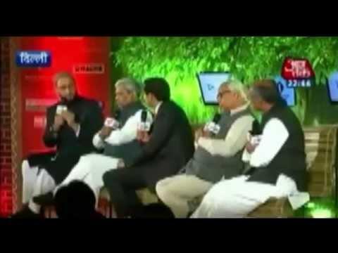 AIMIM Supremo Barrister Asaduddin Owaisi sahab V/S Digvijay Singh (Congress).