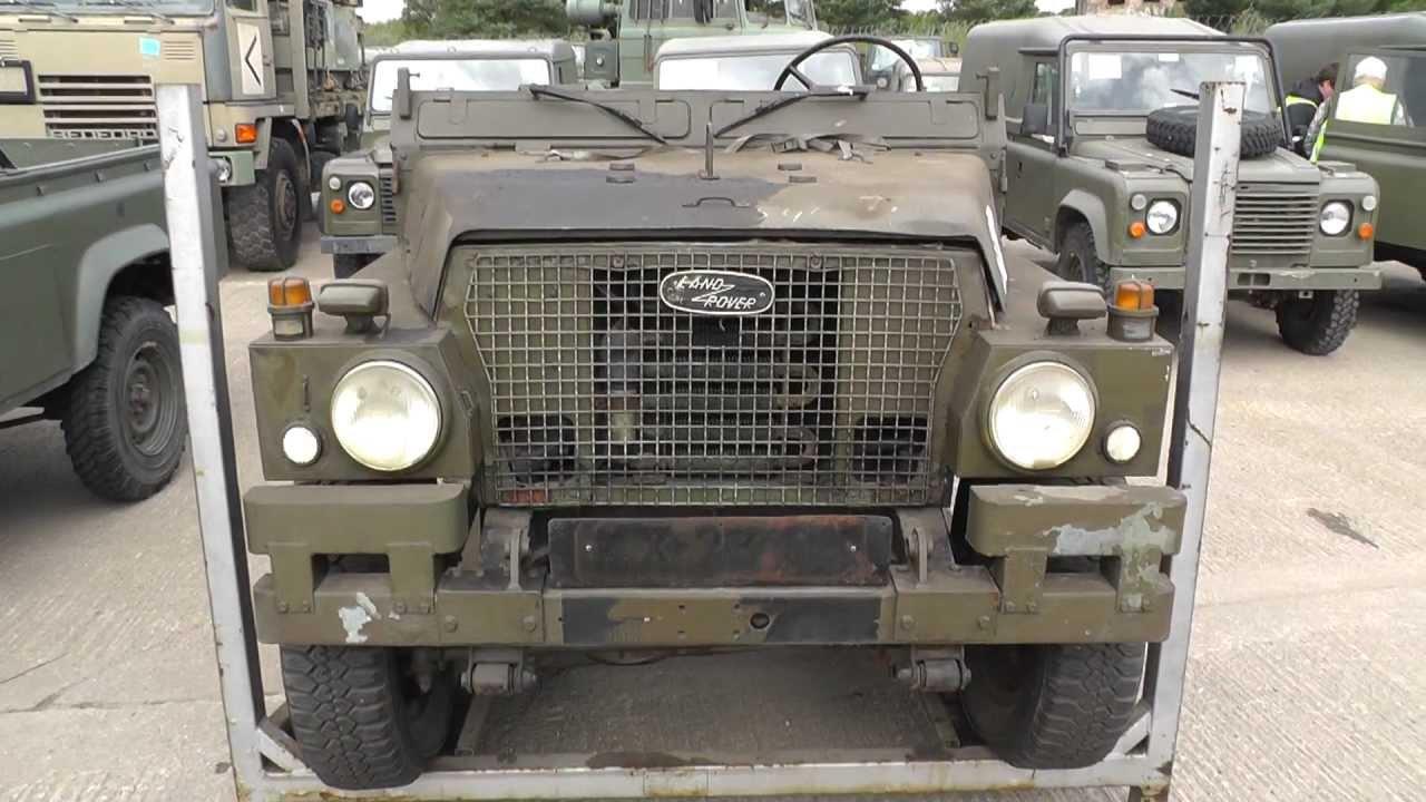 Witham Military Vehicle Auction Surplus Cet Cvrt Stormer