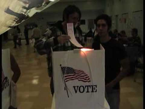 I Gave My Vote Away in the 2008 Election