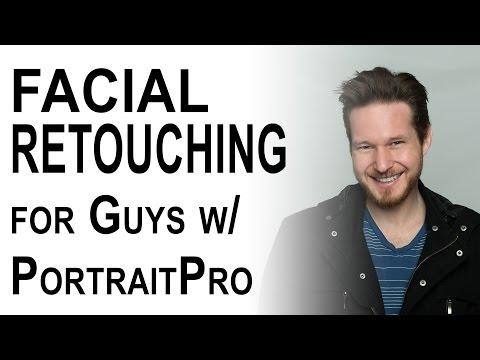 Facial Retouching for Guys Tutorial | PortraitPro StudioMax | Episode 10