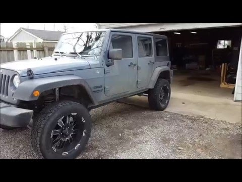 Rough Country 4 inch lift kit on jeep JK (The good and the Bad)