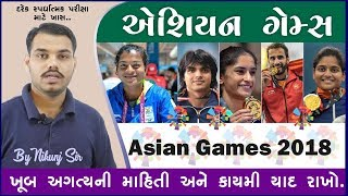 Asian Games 2018 IMP GK EduSafar