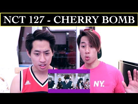 Cover Lagu NCT 127 - CHERRY BOMB MV REACTION (TWINS REACT)