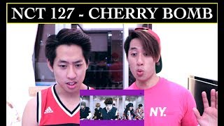 NCT 127 CHERRY BOMB MV REACTION TWINS REACT