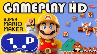 Super Mario Maker Wii U Gameplay FestiGame 2015 HD