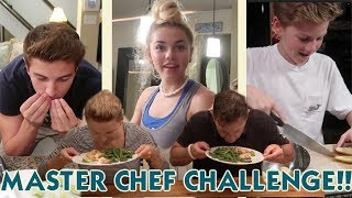 IT'S THE MASTER CHEF CHALLENGE *kids compete for best dish!*