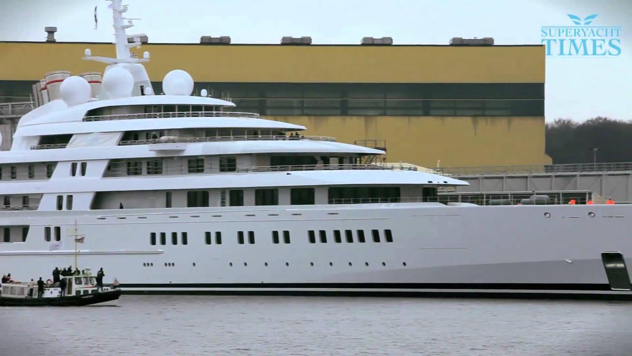 Яхта Azzam | YachtRus.ru Самый главный сайт о Яхтах в России