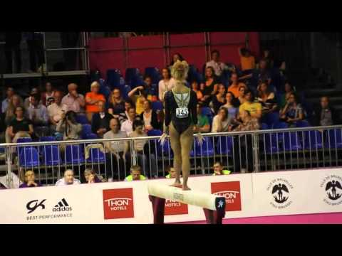 Danusia FRANCIS GBR, Beam Senior Qualification, European Gymnastics Championships 2012