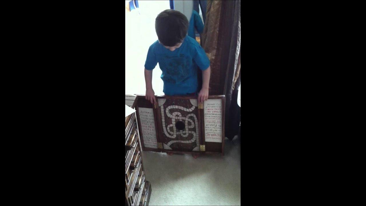 jumanji game - YouTube Jumanji Board Game