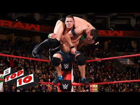 Top 10 Raw moments: WWE Top 10, January 29, 2018 thumbnail
