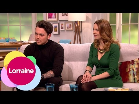 Ray Quinn And Debra Stephenson On Get Your Act Together   Lorraine