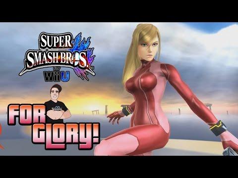 For Glory Online Matches! w/Zero Suit Samus | Super Smash Bros. Wii U #1