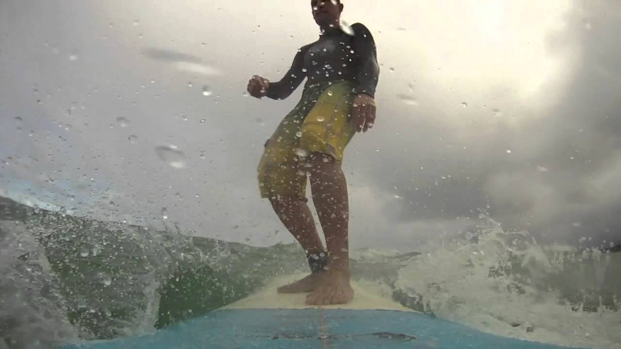Castle Beach Kailua Surfing at Castle Beach