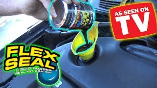 Can You Use FLEX SEAL as ENGINE OIL?