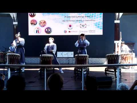 Korean Culture Festival 2015 - World Percussion Group 'Gorhy' Performance #2 (Grey Hanbok)