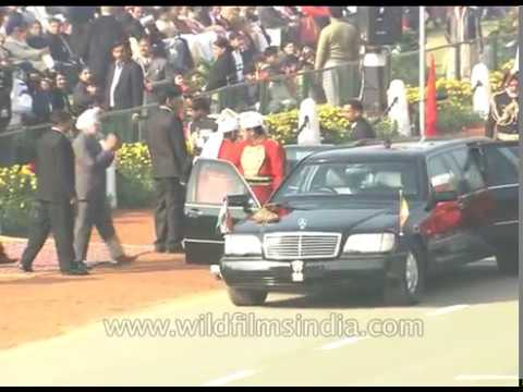 The then President of India APJ Abdul Kalam at Republic Day, New Delhi