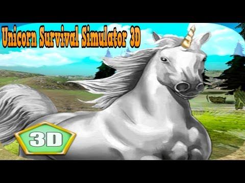 #Unicorn Survival Simulator 3D - Wild Animals World Simulation - iTunes/Android