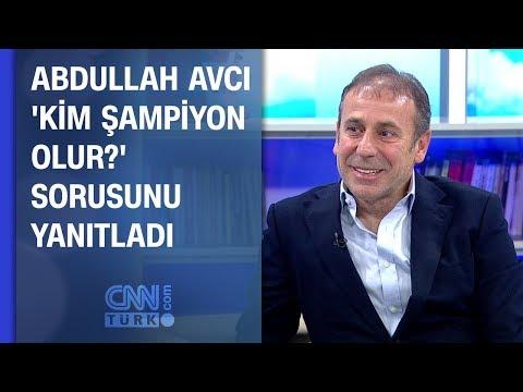 Abdullah Avcı 'Kim şampiyon olur' sorusunu yanıtladı