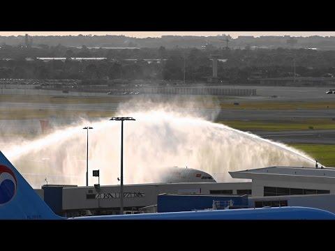 [ Inaugural Flight ] Hainan Airlines A330-200 (B-6116) landing/takeoff I Sydney Airport