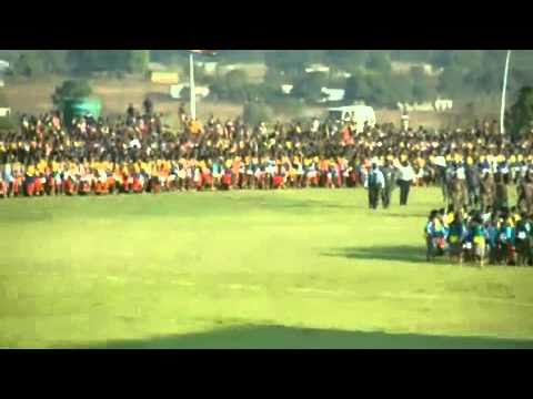 Swaziland Reed Dance 2010 video
