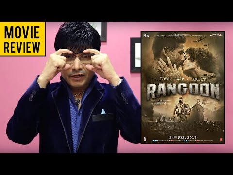Rangoon Movie Review by KRK   KRK Live   Bollywood Review   Latest Movie Reviews