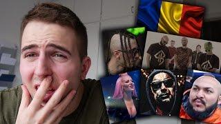 REACTING TO ROMANIAN MUSIC 3 (ft. Dani Mocanu, Delia, Satra B.E.N.Z., Carla's Dreams)