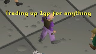 1GP Trade Up (how far can it go?) - OSRS Challenge