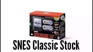 SNES Classic Edition Store Stock Numbers and Tips to Getting an SNES Mini!!